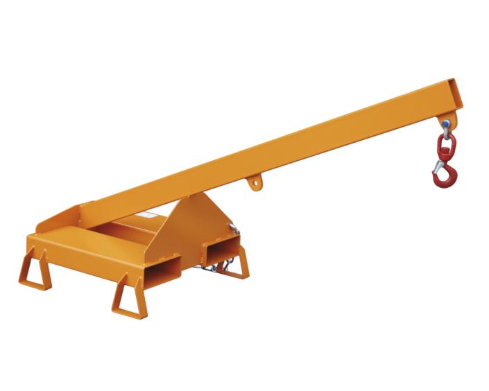 Stapleranbau Lastarm