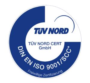 Zertifizierung TÜV